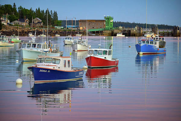 Photograph - Bernard Harbor, Maine by Rick Berk