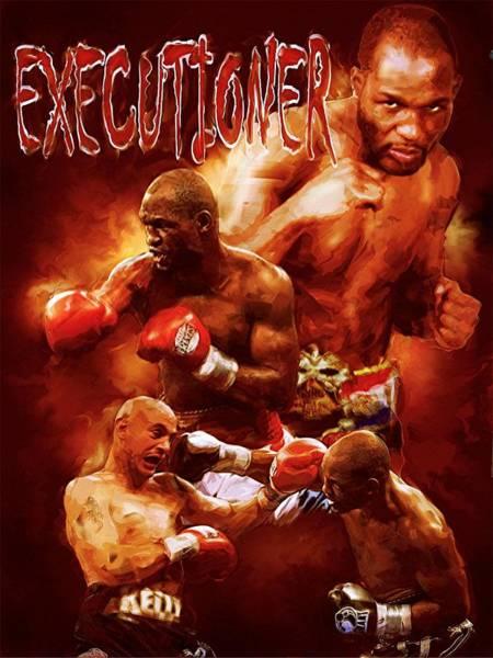 Boxing Mixed Media - Bernard The Executioner Hopkins by Christian Podgorski