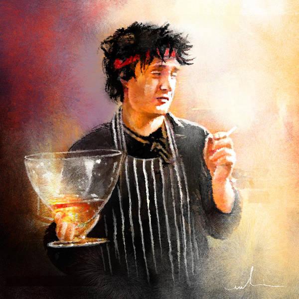 Painting - Bernards Brandy by Miki De Goodaboom