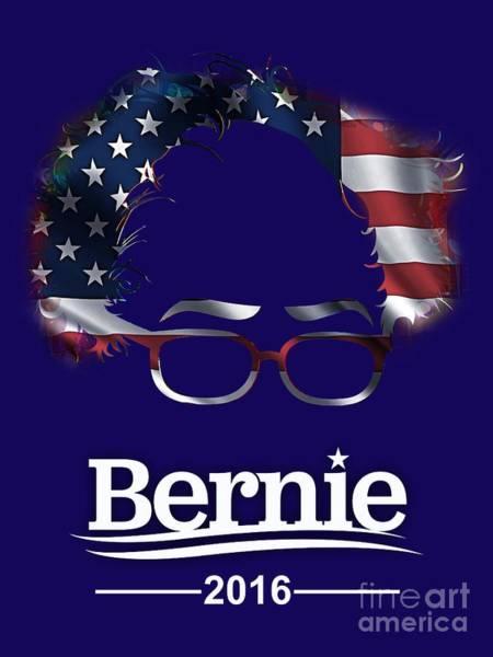 Democrat Mixed Media - Bernie Sanders 2016 by Marvin Blaine