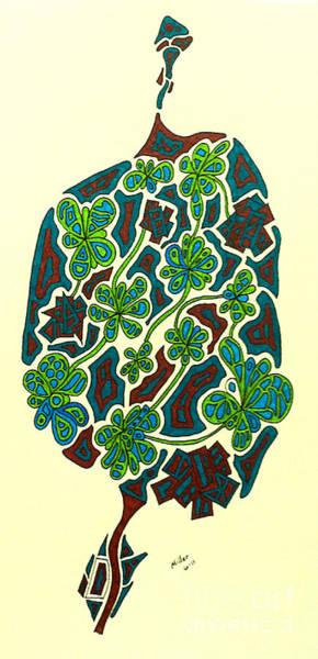 Michael Miller Wall Art - Drawing - Berries Of Flowers by Michael Miller