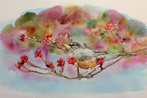Painting - Berry Abundant II by Sonja Jones
