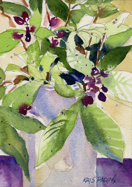 Wall Art - Painting - Berry Bouquet by Kris Parins
