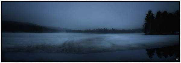 Photograph - Berry Pond Twilight by John Meader