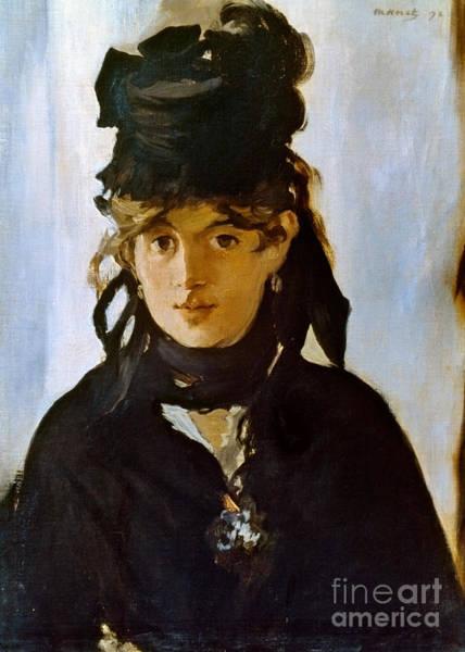 Photograph - Berthe Morisot (1841-1895) by Granger