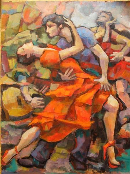 Carmen Wall Art - Painting - Besame Mucho by Alfons Niex