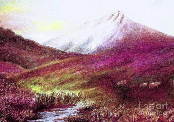 Wall Art - Painting - Beside Still Waters by Hazel Holland