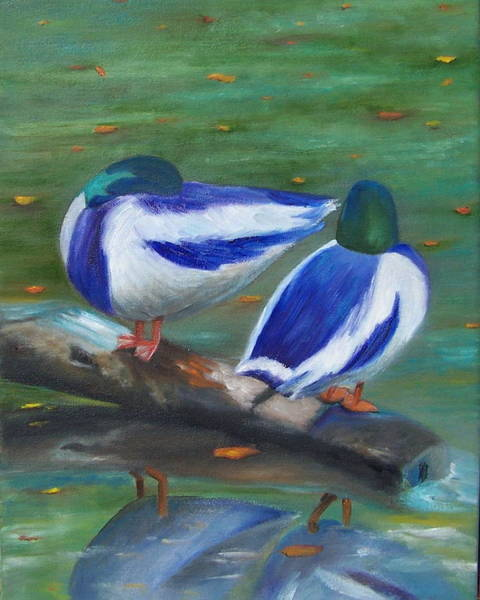 Painting - Beside Still Waters by Susan Dehlinger