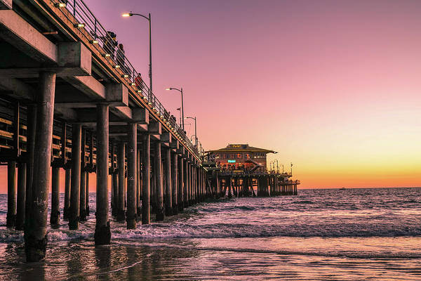 Photograph - Beside The Pier By Mike-hope by Michael Hope