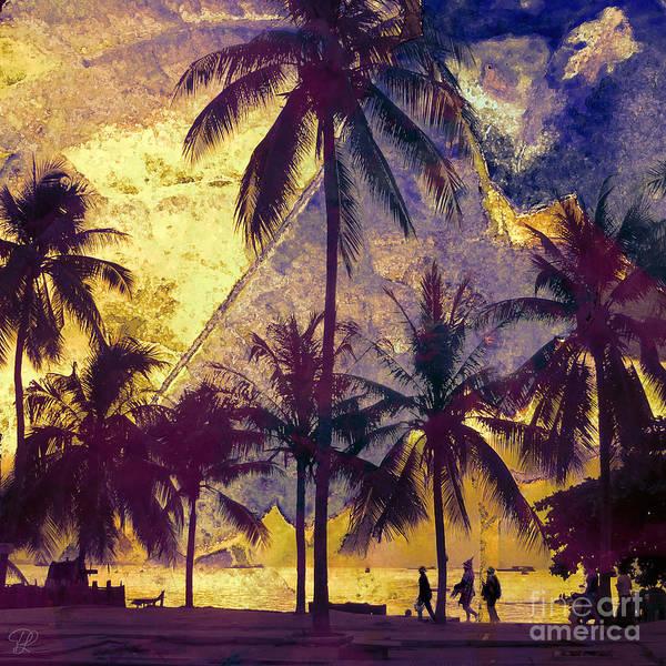 Beside The Sea Art Print