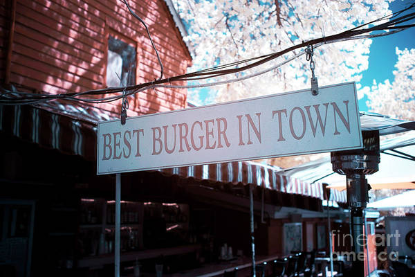 Photograph - Best Burger In Town by John Rizzuto