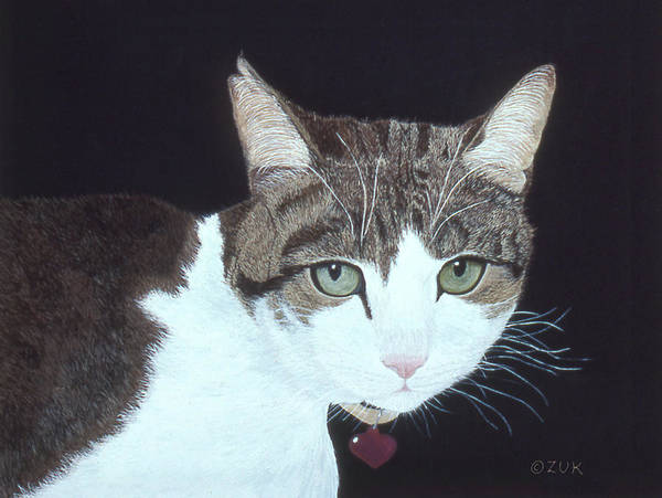 Painting - Best Cat by Karen Zuk Rosenblatt