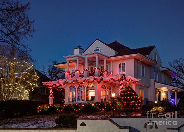 Wall Art - Photograph - Best Christmas Lights Lake Of The Isles Minneapolis II by Wayne Moran