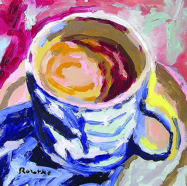 Wall Art - Painting - Best Cup Of Joe by Nancy Rourke