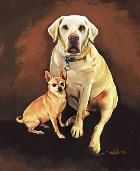 Best Friends By Spano Art Print