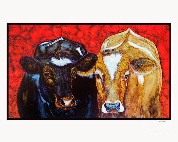 Painting - Best Friends by Jan Killian
