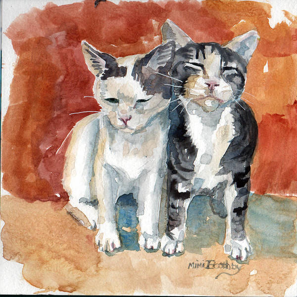 Painting - Best Friends by Mimi Boothby