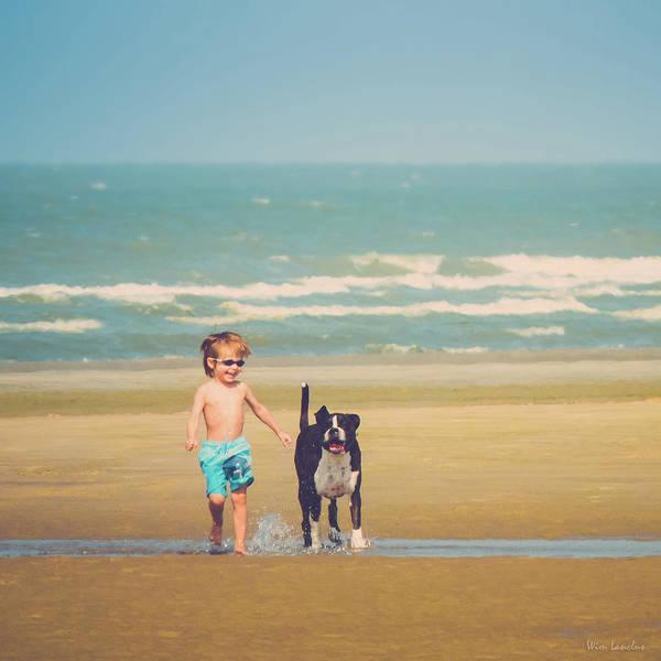 Photograph - Best Friends by Wim Lanclus