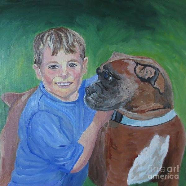 Painting - Best Pals by Stella Sherman