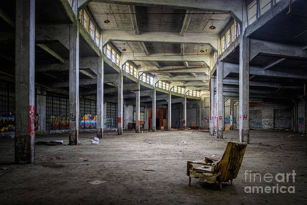 Roundhouse Photograph - Best Seat In The House - Finley Roundhouse, Birmingham, Alabama by Martin Williams