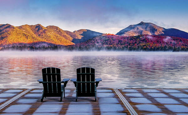 Photograph - Best Seats In The Adirondacks by Neil Shapiro