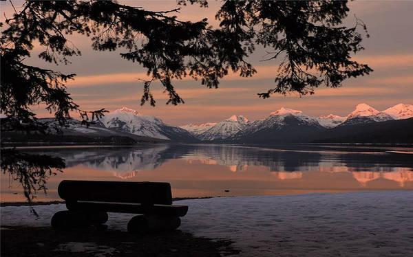 Glacier National Park Photograph - Best View by Eric Fellegy