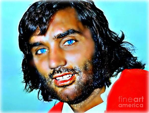 George Best Wall Art - Painting - Best by Wbk