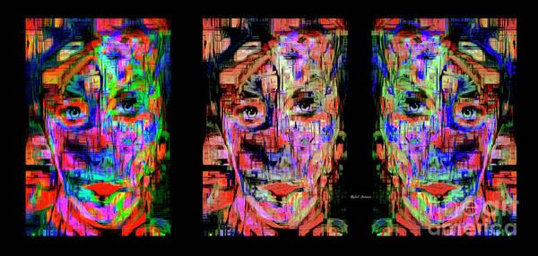 Digital Art - Besties, Best Friends, Sisters by Rafael Salazar