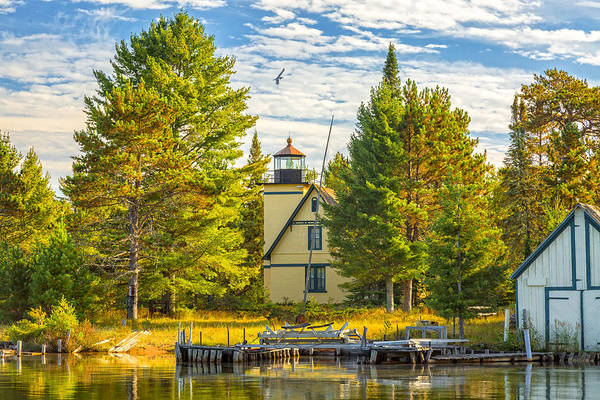 Photograph - Bete Grise Lighthouse by Jack R Perry