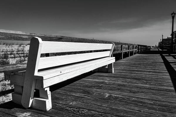 Photograph - Bethany Beach Boardwalk by Stuart Litoff