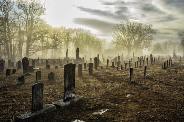 Photograph - Bethany Church Cemetery 03 by Jim Dollar