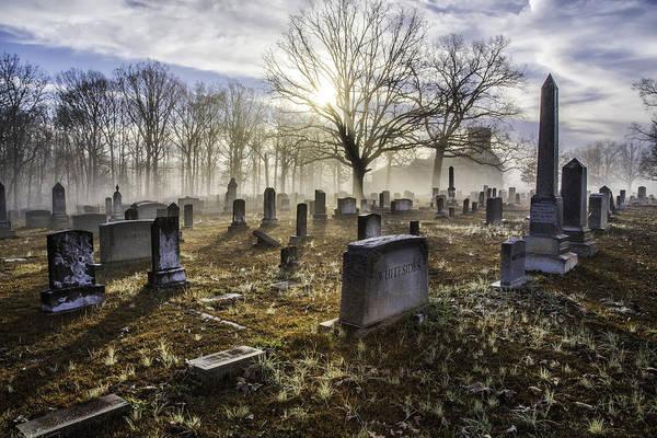 Photograph - Bethany Church Cemetery 07 by Jim Dollar