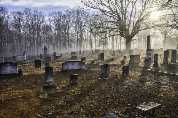 Photograph - Bethany Church Cemetery 08 by Jim Dollar