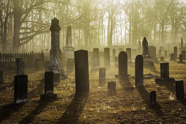 Photograph - Bethany Church Cemetery 12 by Jim Dollar