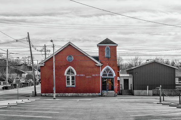 Photograph - Bethel Church Nicholasville by Sharon Popek