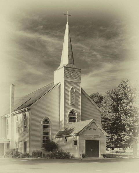 Photograph - Bethel Umc Church by Harold Rau