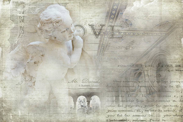 Photograph - Bethesda Cherub by Evie Carrier