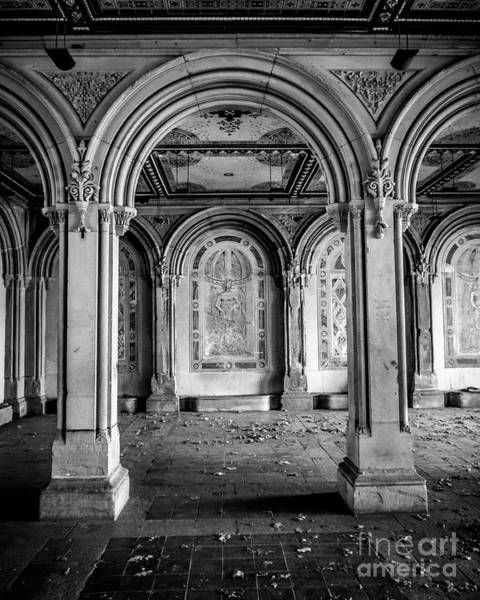 Wall Art - Photograph - Bethesda Terrace Arches by Perry Webster