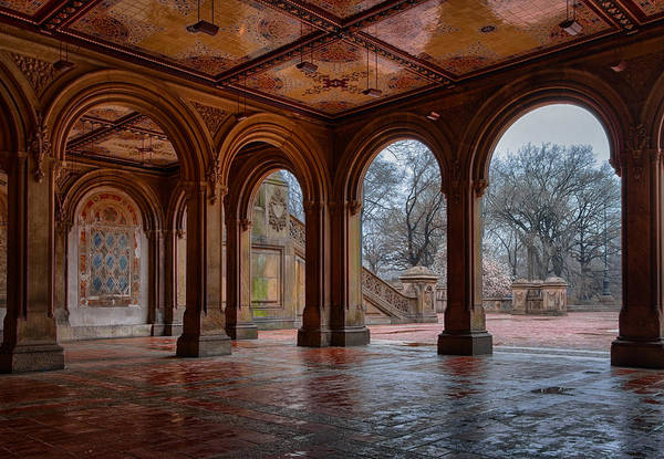 Bethesda Fountain Photograph - Bethesda Terrace Lower Passage by Mike Burgquist