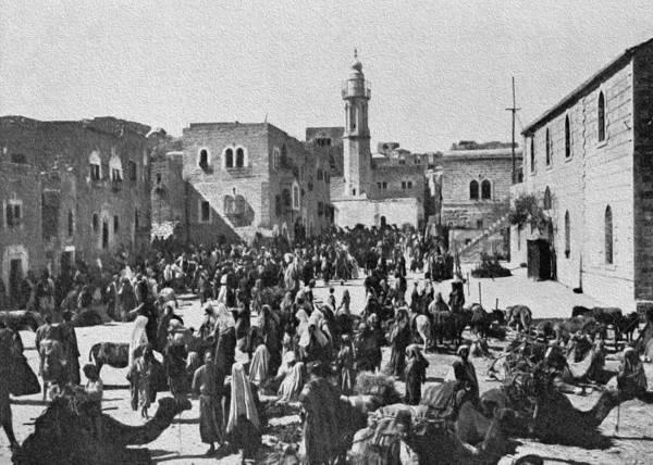 Manger Photograph - Bethlehem 1925 by Munir Alawi