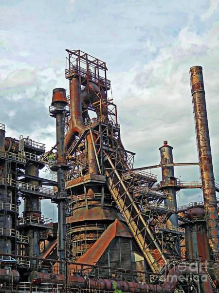 Photograph - Bethlehem Steel # 15 by Marcia Lee Jones