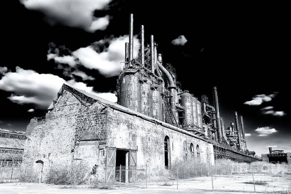 Photograph - Bethlehem Steel by John Rizzuto