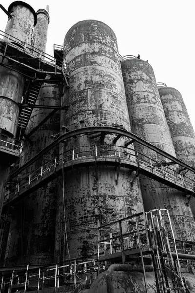 Photograph - Bethlehem Steel Up Close by Jennifer Ancker