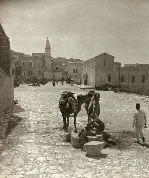 Photograph - Bethlehem: Street, C1911 by Granger