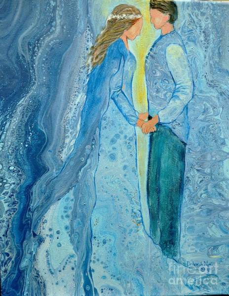 Painting - Betrothed by Deborah Nell