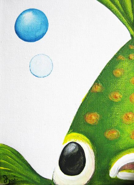 Betta Bubble Art Print