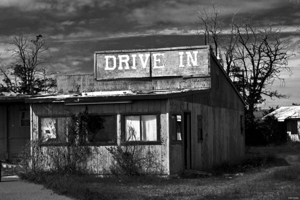 Photograph - Better Days - An Old Drive-in by Joseph Noonan