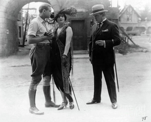 Blythe Photograph - Betty Blythe - In Hollywood With Potash And Perlmutter - 1924 by Sad Hill - Bizarre Los Angeles Archive