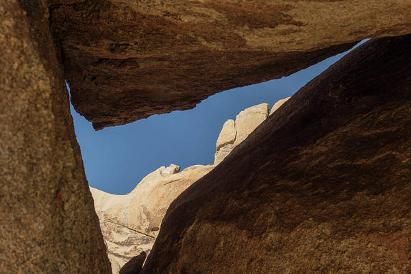 Photograph - Between A Rock And A Hard Place by Loree Johnson
