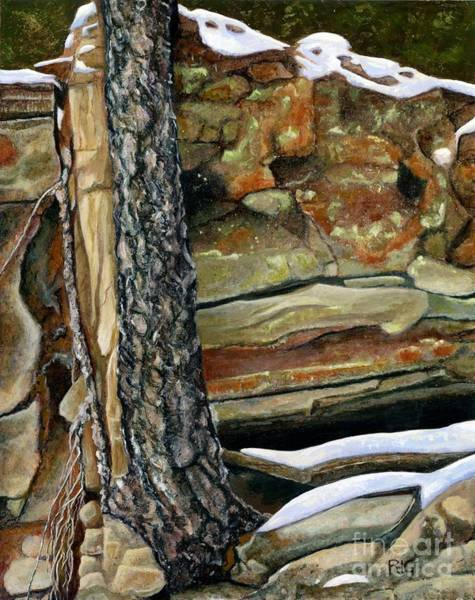 Painting - Between A Rock And A Hard Place by Rosellen Westerhoff